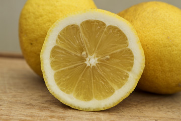lemon closeup