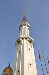 Minaret of Royal Town Mosque Klang