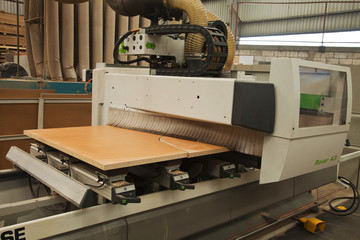 Furniture industry machine