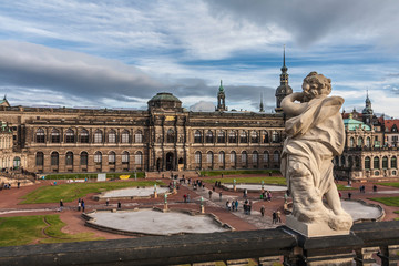 Zwinger of Dresden in Germany.