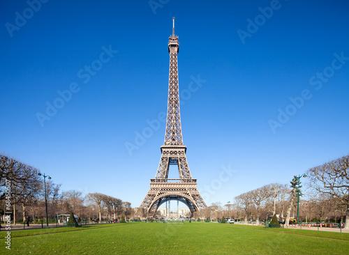 canvas print picture Eiffelturm in Paris