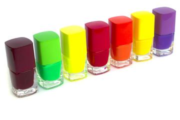 Multie color nail polish set