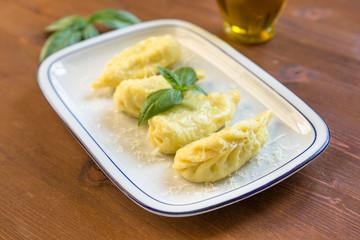 Culurgiones, Sardinian pasta stuffed with potato and pecorino