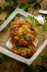 Pomodori gratinati Tomato au gratin Tamatie Τομάτα Tráta