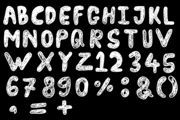 Doodle Font - Streak