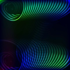 glowing spiral