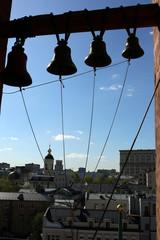 Вид с колокольни в Кадашах.