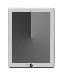 Tablet computer,black and white screen
