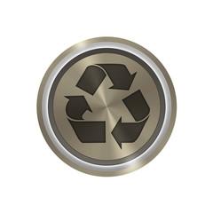 Icone en bronze : recyclage