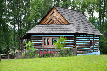 Traditional wooden building in Slovakia, Europe