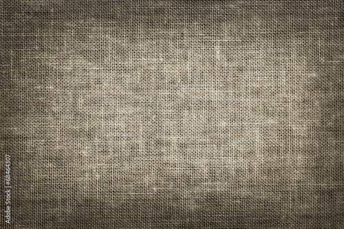 Tuinposter Stof linen fabric texture in vintage style