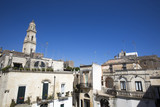 Vista di Lecce dai tetti del centro storico poster