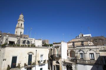 Vista di Lecce dai tetti del centro storico
