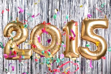 2015 new year decoration
