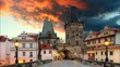 Prague - Charles Bridge, time lapse