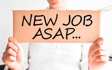 Deed a New job asap