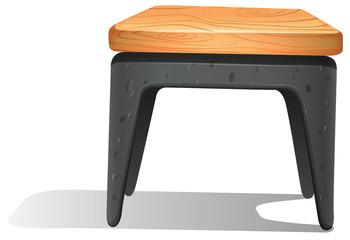 A wooden furniture