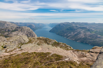Majestic Lysefjord View