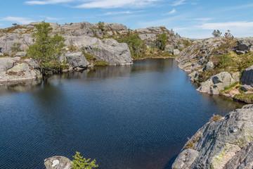 Preikestolen Glacier Lake 17