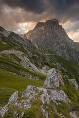 Tramonto sul Gran Sasso, Abruzzo
