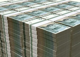 Swedish Krona Notes Pile