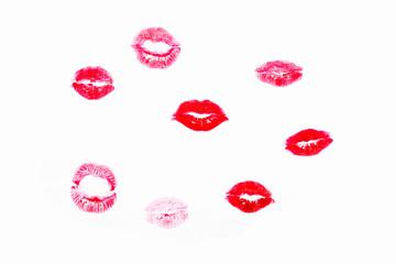 Woman kiss