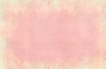 Abstract pale pink and yellow texture background