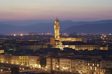 Tramonto su Firenze, Toscana