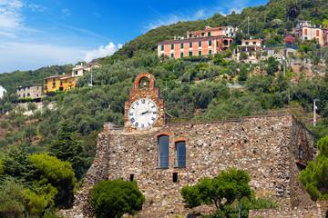 Castle of Bonassola Liguria Italy