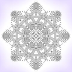 Geometric mandala.