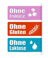 Ohne Fruktose, Gluten & Laktose