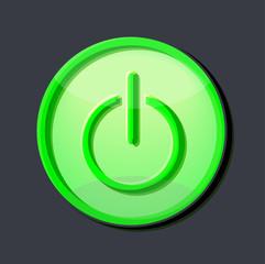 green enter button