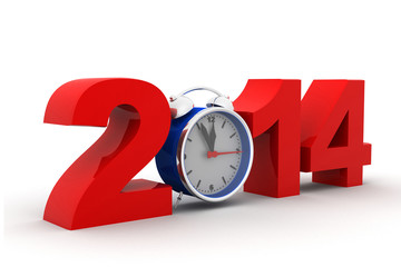 2014 with alarm clock .