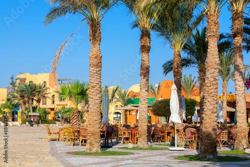 City Square. El Gouna, Egypt - 68473954
