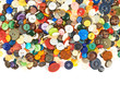 Pile of a multiple buttons