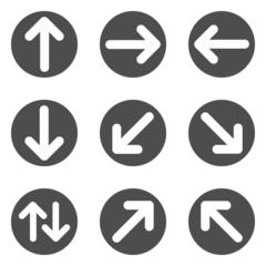 Icons Pfeile Piktogramme