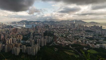 Hong Kong cityscape timelapse