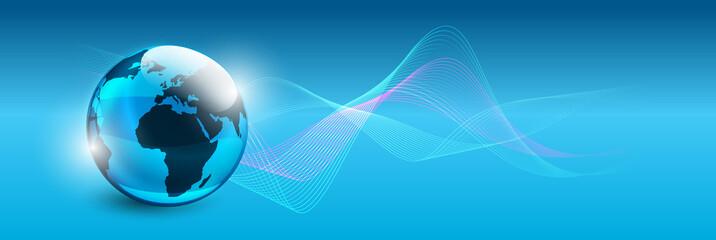 mondo, pianeta, informazione, connessione