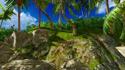 Paradise on Hawaii Island