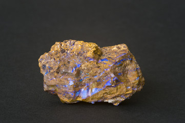 Rough boulder opal. 6.3cm across.