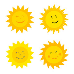 Suns with smile