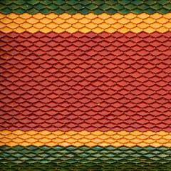 Thai roof tile