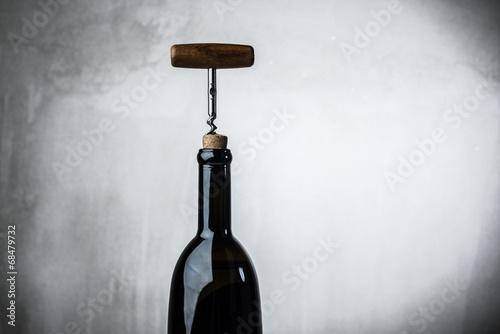 Bottle wine corkscrew