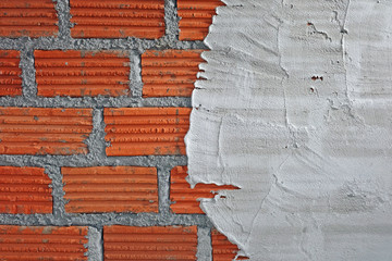 Construction wall texture