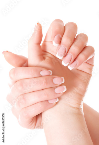 canvas print picture Hand care