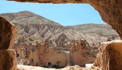 Désert de pierre en Cappadoce