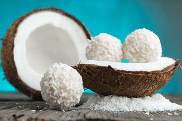 Coconut cakes fresh coconut