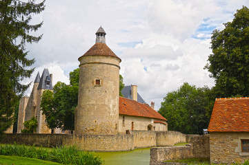 Château fort du XIII ème siècle - Bannegon