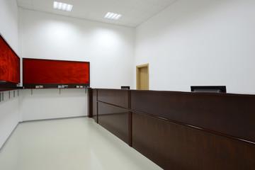 Interior reception room