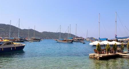 Bateaux en Turquie